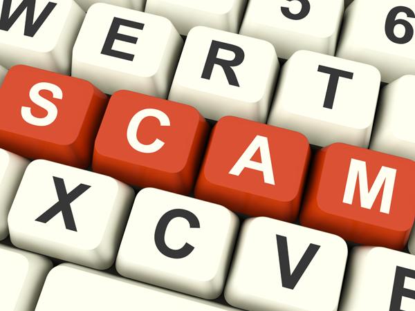 Computer keybords scams